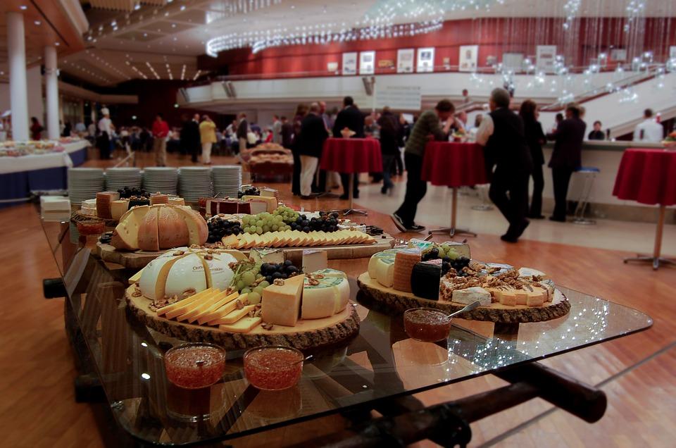 catering para seminarios o congresos